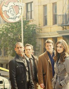 #Castle...the gang's all here!!