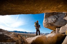 Climbing in Joshua Tree National Park - Day at Outer Mongolia location was the best