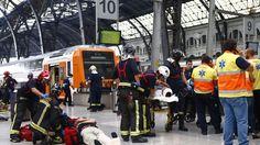 Accidente de tren dejó 56 heridos en Francia