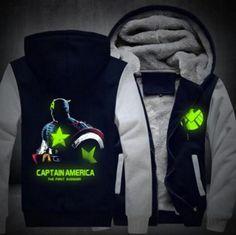 Sensible 2018 New Men Women Luminous Dragon Ball Saiyan Crest Coat Zipper Hoodie Winter Fleece Unisex Thicken Jacket Clothing Usa Size Less Expensive Men's Clothing