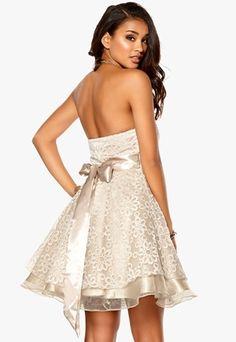 Model Behaviour Cecilia Dress Champagne