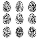 Zentangle Easter Eggs For Coloring Book For Adult - Download From Over 47 Million High Quality Stock Photos, Images, Vectors. Sign up for FREE today. Image: 66717906