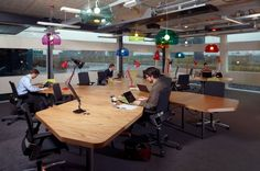 Cool open workspace