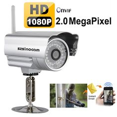 Wireless WIFI Full HD 1080P 2MP Outdoor 36IR Night Vision CCTV Onvif IP Camera in Home, Furniture & DIY, Security & Home Automation, Cameras/ CCTV/ Sensors   eBay