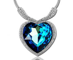 Heart-Shaped Pendant Necklace - $2.95 + Shipping!