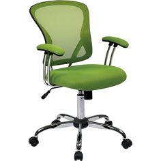 Juliana Office Task Chair, Green Mesh
