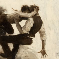 Alan Foster (1892-1969), The Fall (detail)