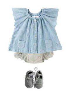 ღ¸.•❤ ƁҽႦҽ ღ .¸¸.•*¨*• Outfits para Bebes, los amarás! hija #niña#nena