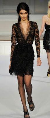 LBD-black+lace+dress-Oscar+de+la+Renta.jpg 171×400 pixels