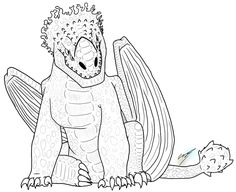 Image Result For Reddeath Dragon Coloring Page
