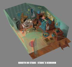 dok and stark project, Fernando Peque on ArtStation at https://www.artstation.com/artwork/xO89O