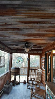 corrugated tin ceiling in a room family room corrugated metal rh pinterest com