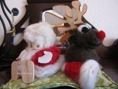 Weihnachtsmann jr. und Rentier jr