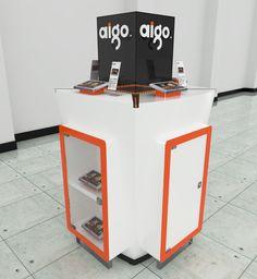 Exhibición de productos tecnológicos. on Behance