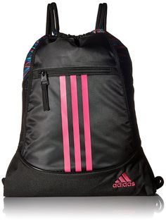 c0350198fa54 Details about adidas Alliance Sack Pack Drawstring Gym Bags Unisex  Backpacks Sports Sackpacks