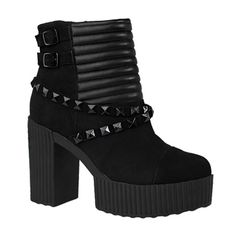 TUK Studded Strap Yuni Boots @ SinisterSoles.com