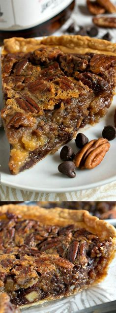 This Chocolate Bourbon Pecan Pie from A Family Feast takes your favorite classic dessert and kicks it up a few notches! This grown-up dessert will be a huge hit with your friend, family and neighbors this holiday season. With it's sweet deliciousness it is sure to become your new favorite fall sweet treat!
