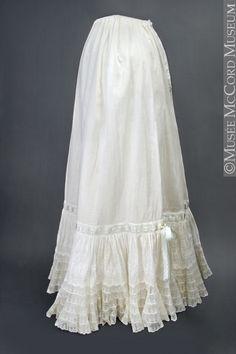 1800-1810 petticoats - Google Search