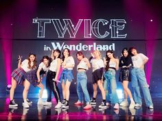 Kpop Girl Groups, Korean Girl Groups, Kpop Girls, Extended Play, Nayeon, Wonderland Online, Jihyo Twice, Twice Once, Fandoms