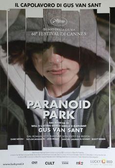 Paranoid Park by Gus Van Sant poster