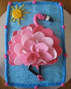 Browse all of the Flamingo Birthday Cake photos, GIFs and videos. Find just what you& looking for on Photobucket Pink Flamingo Party, Flamingo Cake, Flamingo Birthday, Pink Flamingos, Girl Birthday, Birthday Cake, Flamingo Beach, Flamingo Gifts, Pool Party Cakes