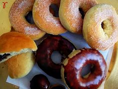 γεύσις: Donuts στο φούρνο