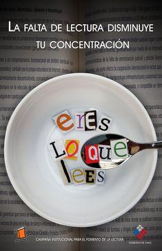 La falta de lectura disminuye tu concentración.