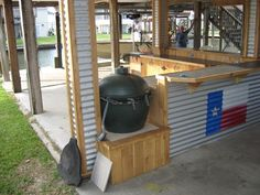 rustic outdoor kitchen - Google Search