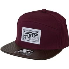 Starter Black Label Pack Cap burgundy