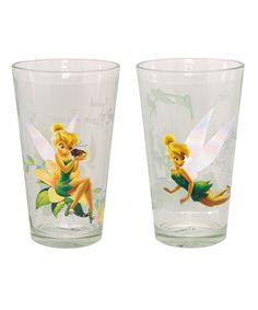 Tinker Bell 16-Oz. Tumblers - Set of Two #zulily #zulilyfinds