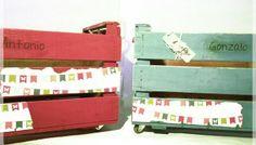 Dos nuevos modelos de cajas personalizadas, listas para transportar juguetes...
