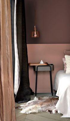 Peinture écologique mon avis sur Pure & Paint - Clem Around The Corner Bedroom Colors, Bedroom Decor, Bedroom Curtains, Bedroom Furniture, Furniture Ideas, Scandinavian Interior, Decorating On A Budget, Home Decor Inspiration, Painting Inspiration