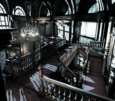 resident evil mansion hall - Google Search