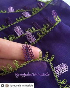 For orders and information 👉 @ igneoyalarimmaside … - Tatting Ideen 2019 Embroidery Techniques, Embroidery Stitches, Hand Embroidery, Needle Tatting, Needle Lace, Printable Potty Chart, Toilet Paper Crafts, Sticker Chart, Tatting Patterns
