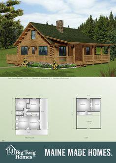 Maine Log Homes on Pinterest - Big Twig Homes Big Twig Homes
