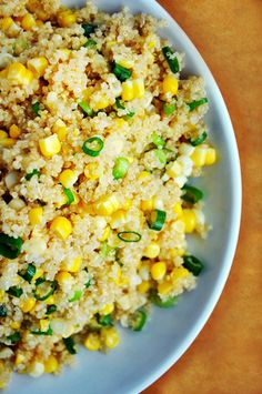 "4. Quinoa    Quinoa – pronounced keen-wah – is often called a ""complete protein"" grain. Quinoa is a seed with a fluffy, creamy and slightly crunchy …"