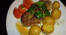 pork in the oven Bbq, Oven, Pork, Cooking Recipes, Eggs, Chicken, Meat, Breakfast, Greek