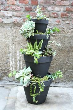 Tiered planter - I want to make this and put herbs in it
