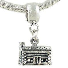 Sterling Silver LOG CABIN Charm fits European Bead Bracelet .925 Collection http://www.amazon.com/dp/B003DVEJX2/ref=cm_sw_r_pi_dp_mhA9tb0Y1HVE7