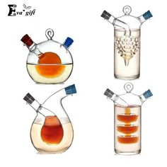 High temperature spice bottle Oil and vinegar galss bottle sauce glass jar sealed seasoning glass small storage wine bottles $38.99   #style #styles #sweet #dress #pretty #fashion #instalike #cool #swag #model #shopping #iwant #stylish #streetstyle #love