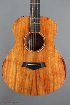 New Taylor GS Mini-e Koa FLTD