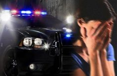 COP LEAVES WOMAN HANDCUFFED IN BACK OF POLICE CAR WITH MAN WHO ENDED UP RAPING HER