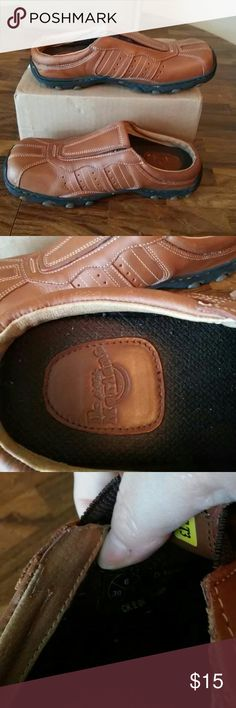 Dr Martens mules, slip on Medium Brown in color. Excellent bottoms. A few small scratches as pictured. Sizing says 6 7 39. I wear an 8.5 and they fit. Smoke free cat friendly home. Dr. Martens Shoes Mules & Clogs