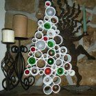 PVC Christmas Tree - Modern and Unique
