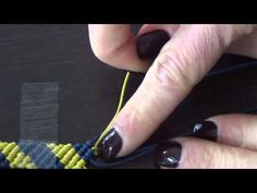 In this tutorial I show you how to make a rose bud macrame bracelet. Please feel free to give it a go yourself and I hope you enjoy. Large Macrame Board on A...