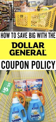 Dollar General Coupon Policy: 9 Things You Need To Know (Plus a Few Hacks Too!) Save big on groceries with the Dollar General coupon policy! Extreme Couponing, How To Start Couponing, Couponing For Beginners, Couponing 101, Grocery Coupons, Shopping Coupons, Shopping Hacks, Store Hacks, Store Coupons
