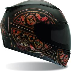 Bell Sports Full Face Motorcycle Helmet - RS-1 Steam Punk