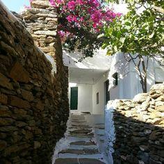 Alley way to www.patsanastudios-sifnos.gr