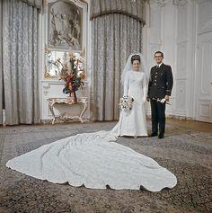 huwelijk Prinses Margriet en Pieter van Vollenhoven, 1967
