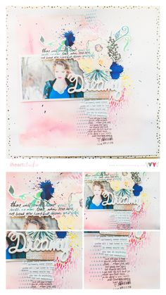 Scrapbook Process: Dream | Wilna Furstenberg Blog